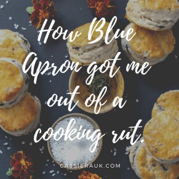 How Blue Apron got me out of a cooking rut    cassierauk.com
