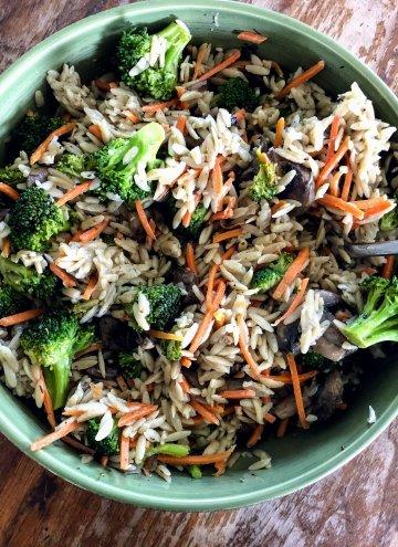 Broccoli and Orzo Salad