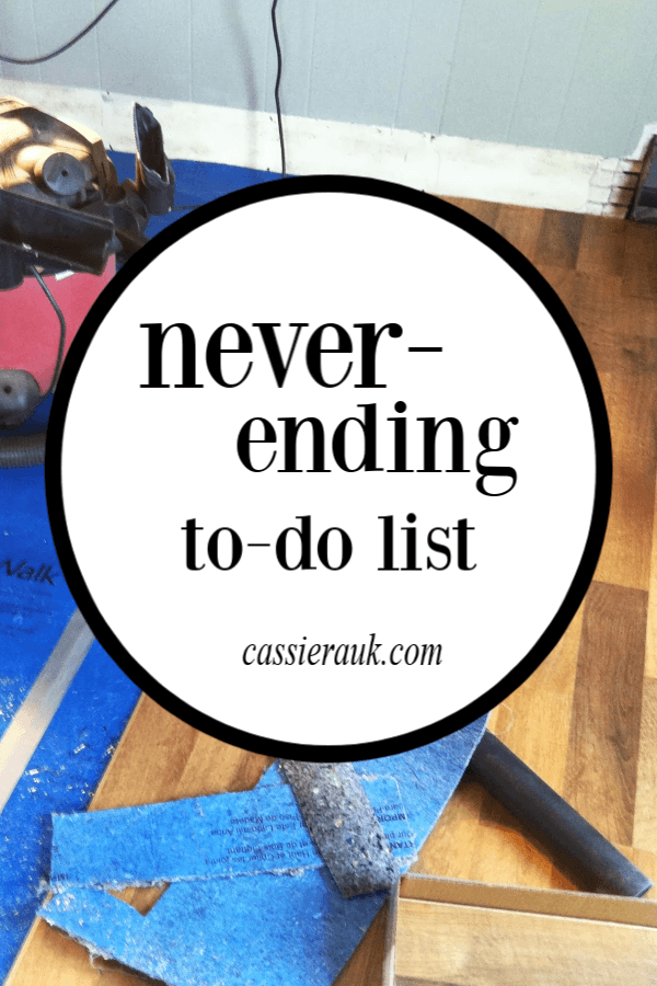 The Never-Ending To-Do List | cassierauk.com