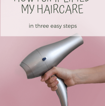 How I simplified my haircare in three easy steps | cassierauk.com