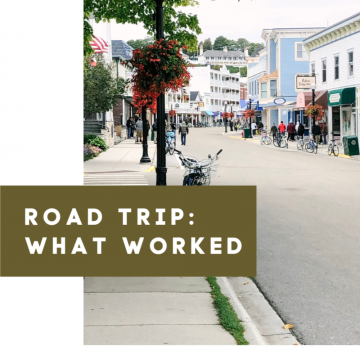 Road Trip: What Worked | cassierauk.com