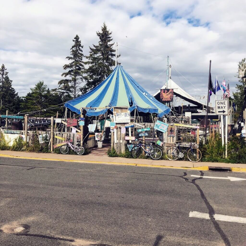 Tom's Burned Down Cafe on Madeline Island, WI | cassierauk.com