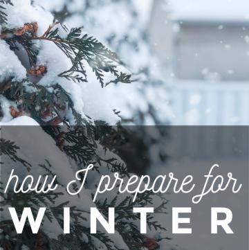How I prepare for Winter | cassierauk.com