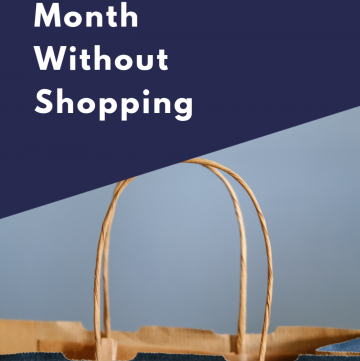 A Month Without Shopping | CassieRauk.com